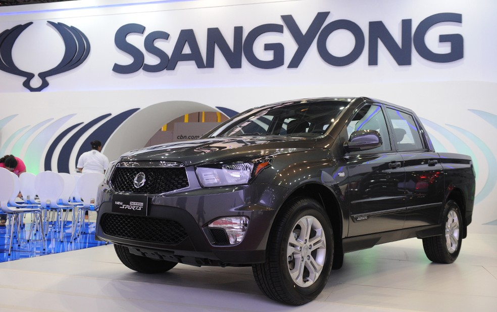 Action Sports da Ssangyong (Foto: Raul Zito/G1)