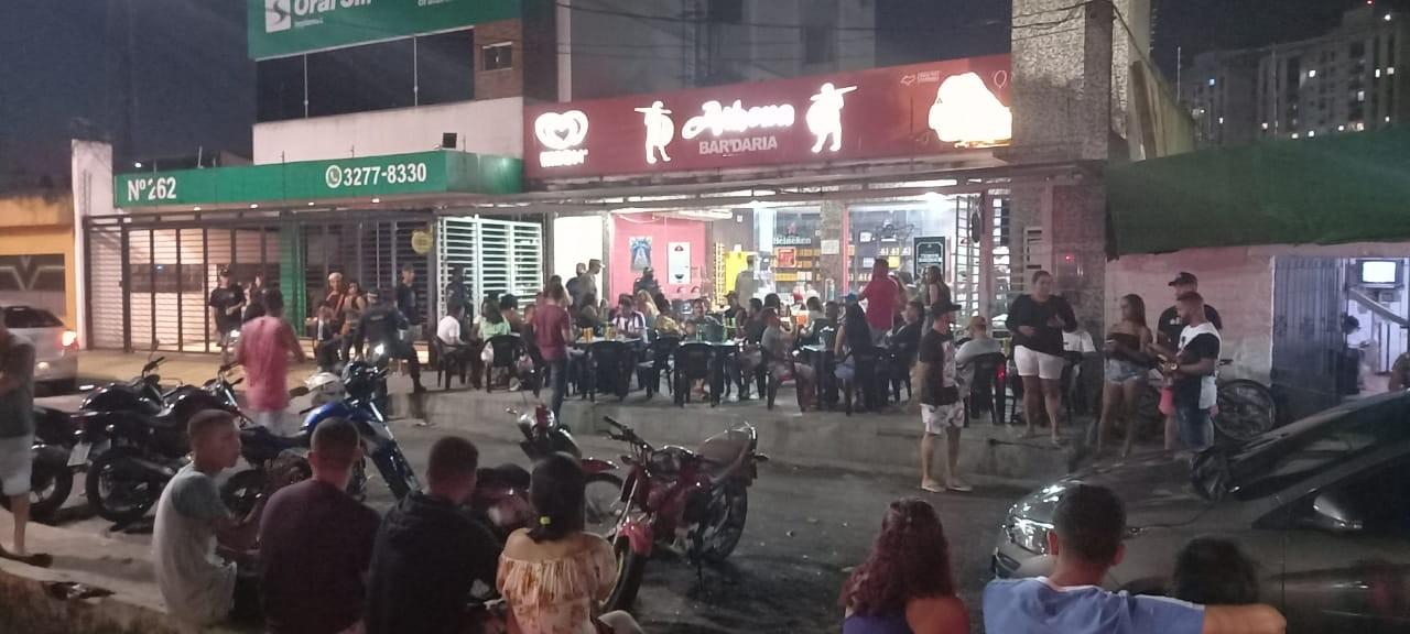 PM fecha 11 bares durante operação de combate a poluição sonora e aglomeração em Ananindeua