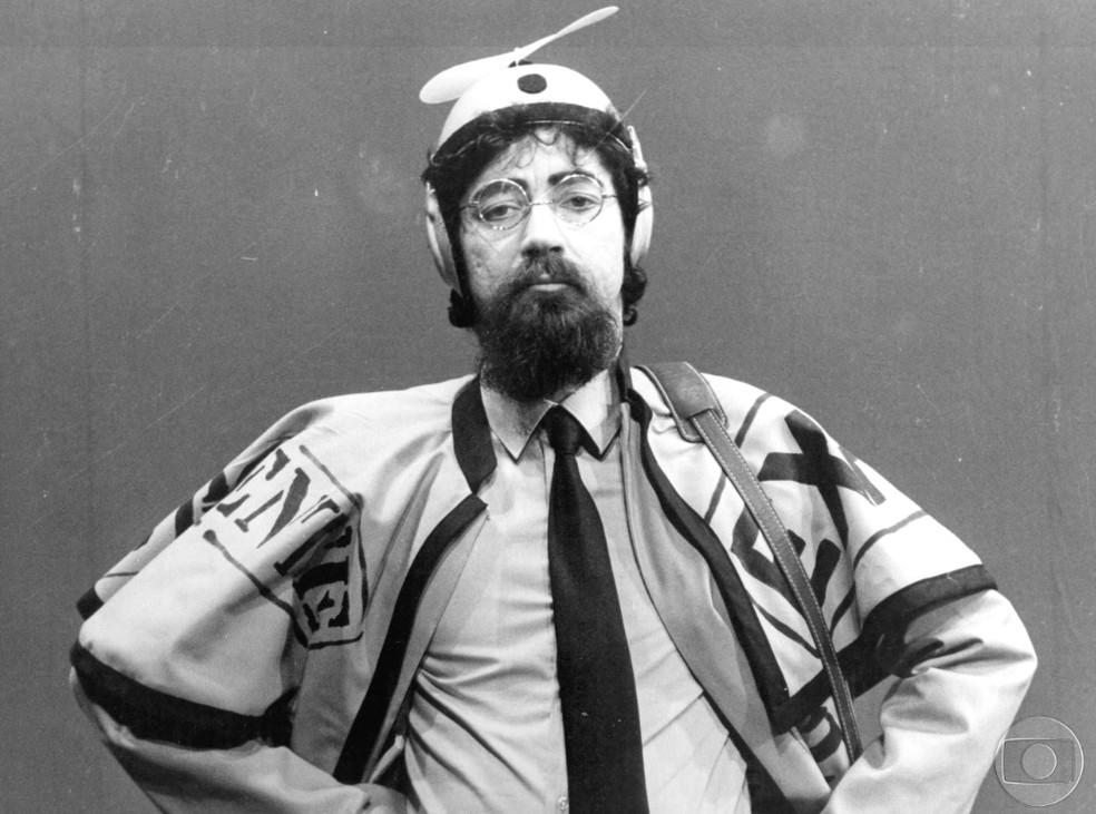 Raul Seixas tem obra referencial que destaca os quatro primeiros álbuns da discografia solo do artista — Foto: TV Globo / Divulgação