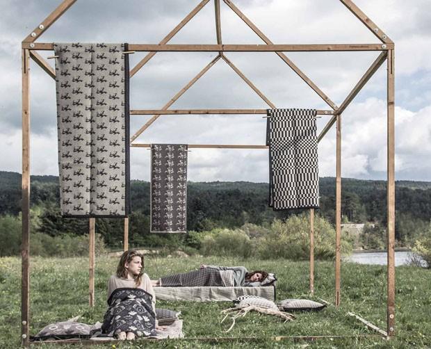 Produção de tecidos à moda antiga é retomada por jovens (Foto: divulgação)
