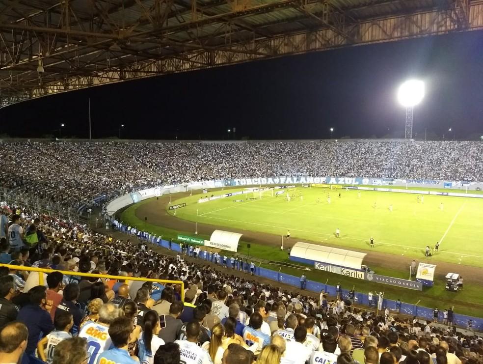 Estádio do Café vai receber Ferroviário-CE e Corinthians — Foto: Rodrigo Saviani