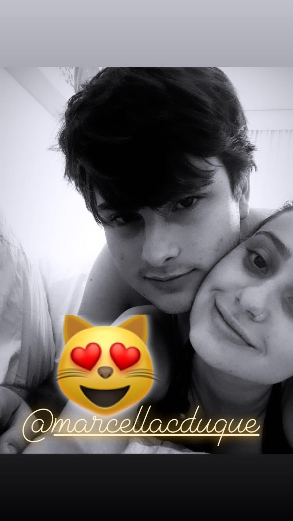 Marcella Duque e Antônio (Foto: Reprodução)