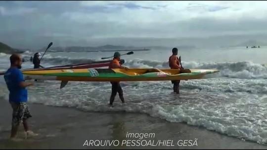 Atletas de Santarém garantem ouros em segunda etapa do Brasileiro de Canoagem Oceânica