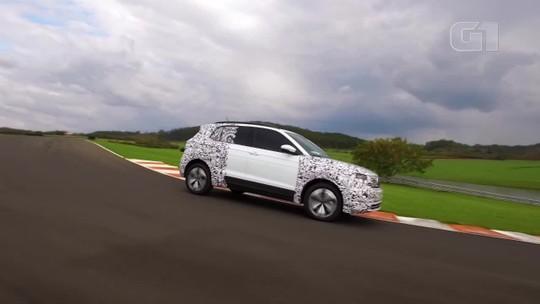 Volkswagen mostra T-Cross em ação no Brasil e as medidas do SUV