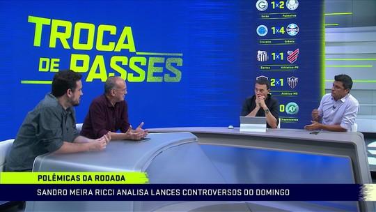 """Sandro Meira Ricci aponta erro gravíssimo em pênalti decisivo na Série C: """"Muito estranho"""""""