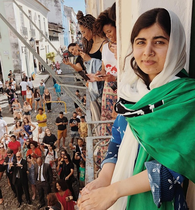 Malala em Salvador, onde comemora seus 21 anos (Foto: Reprodução / Instagram)