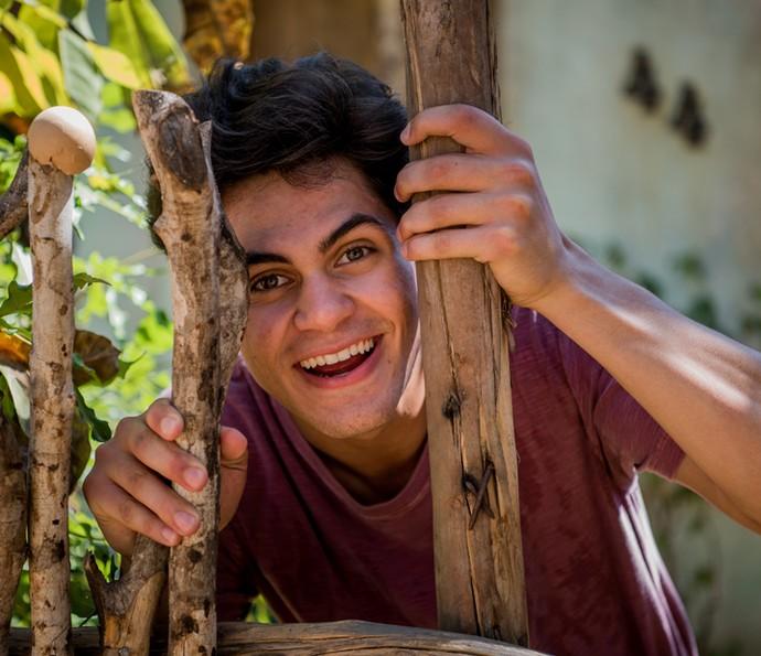 Lucas Veloso conta sobre a relação com sua família (Foto: Globo/Caiuá Franco )
