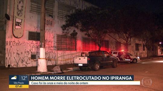 Uma pessoa morreu carbonizada em um incêndio que destruiu um transformador no Ipiranga
