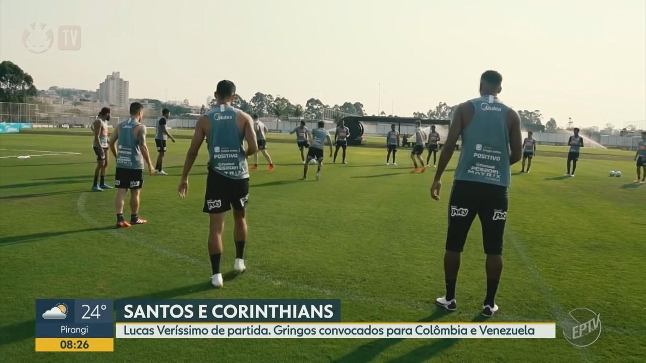 Lucas Veríssimo está de partida do Santos