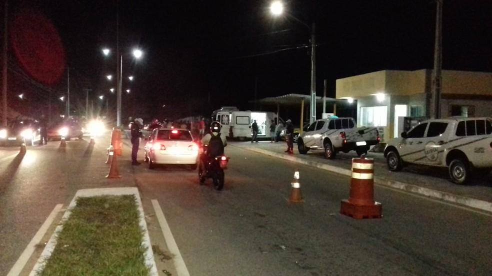 PM e Detran-RN realizaram três operações da Lei Seca ao longo da semana  — Foto: PMRN/Divulgação