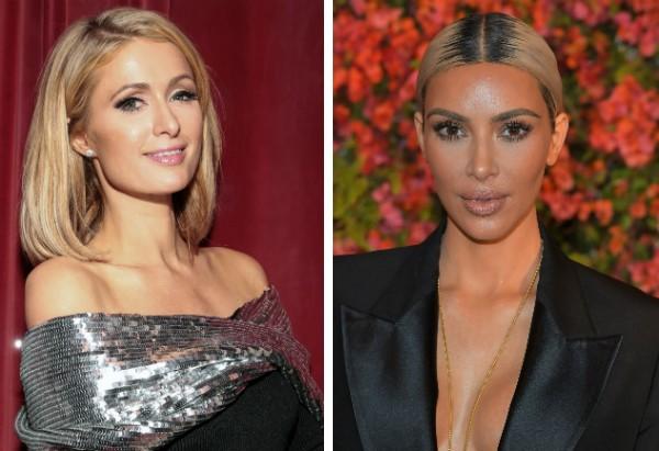 Paris Hilton e Kim Kardashian (Foto: Getty Images)