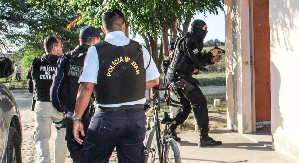 Operação em Quieramobim prende 10 suspeitos de tráfico (Foto: SSPDS/Divulgação)