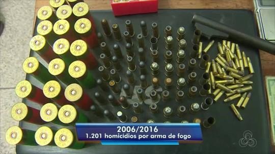 Quase 60% dos homicídios no Amapá são causados por armas de fogo; quase 1 mil foram recuperadas em 2 anos