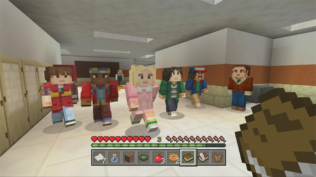 Minecraft ganha pacote de skins da série Stranger Things  Jogos