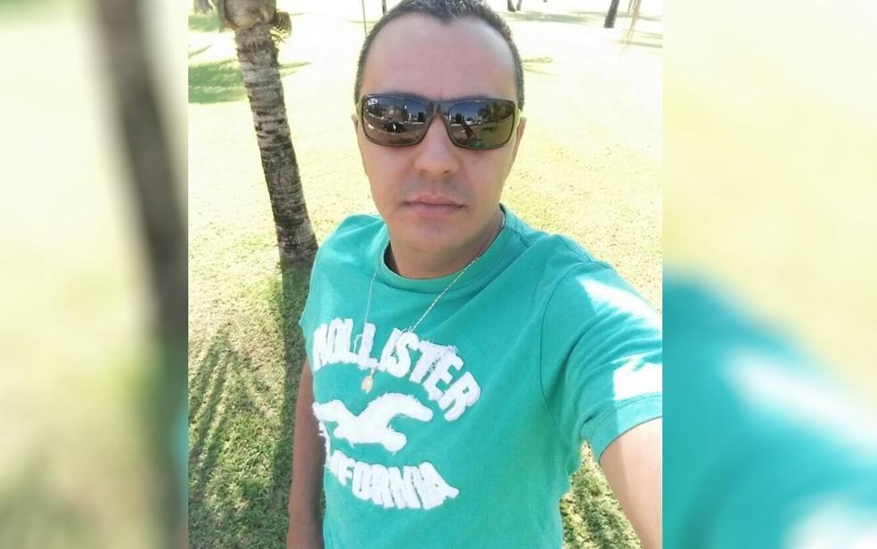 Marcos Antônio Gonçalves Viana, de 36 anos, está sumido há cinco dias (Foto: Reprodução/Arquivo Pessoal)