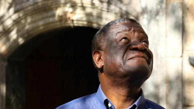 """Conhecido por repetir a máxima de que a """"justiça é responsabilidade de todos"""", Mukwege montou um hospital com 350 leitos financiado pela UNICEF e outros doadores (Foto: SAFIN HAMED/AFP via BBC News Brasil)"""