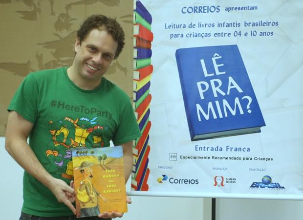 João Velho (Foto: Anderson Borde/AgNews )