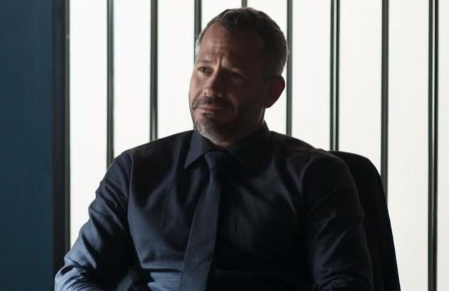 No sábado (13), Agno (Malvino Salvador) irá chantagear Otávio (José de Abreu) para que ele aceite um novo sócio na construtora  (Foto: TV Globo )