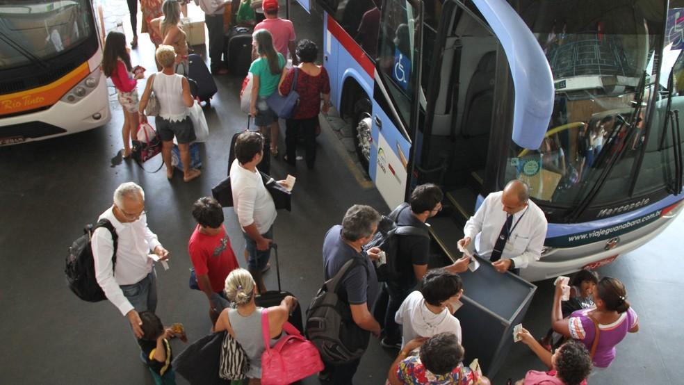 Empresa de ônibus é condenada pela Justiça da PB por negar passe livre à portadora de diabete — Foto: Francisco França/Jornal da Paraíba/Arquivo