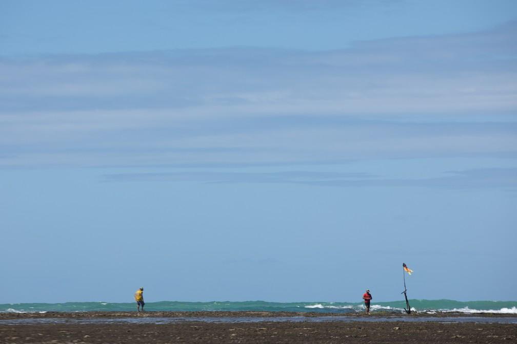 No litoral Norte de Alagoas, São Miguel dos Milagres tem piscinas naturais — Foto: Marcelo Brandt/G1