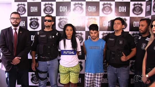 Mãe e padrasto são presos suspeitos de espancar criança de 2 anos até a morte, em Goiânia