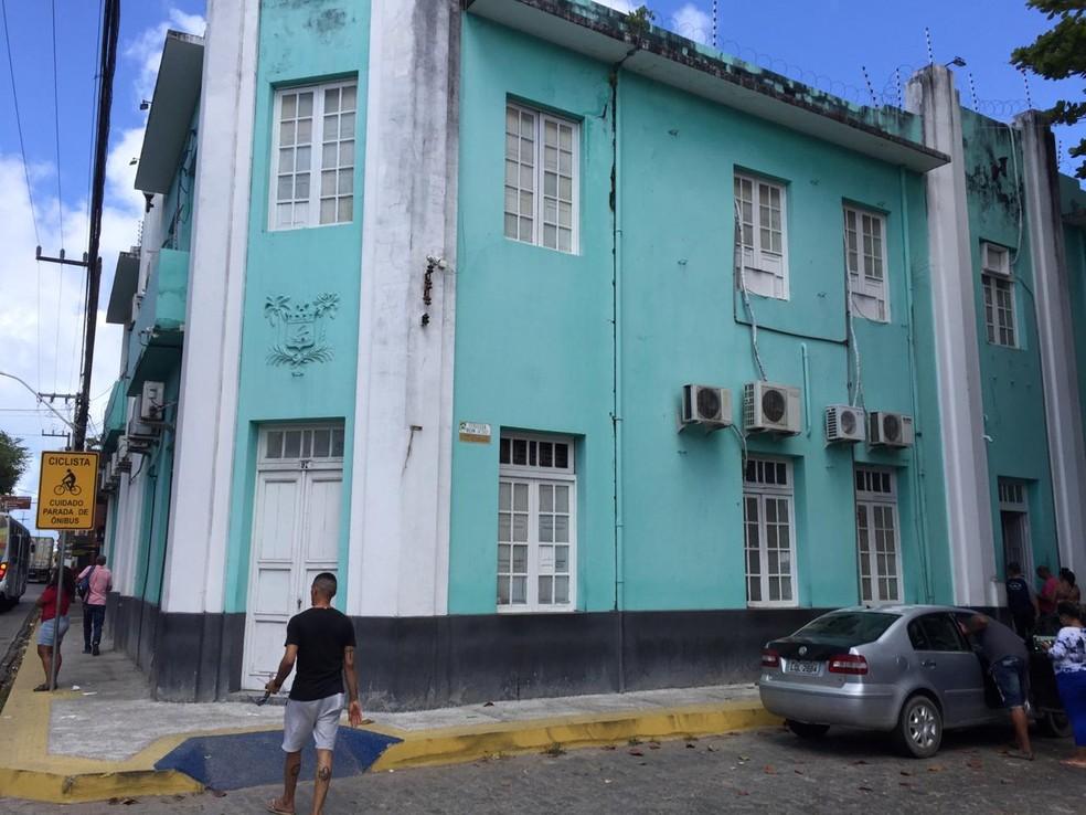 Sede do Itep - Instituto Técnico-Científico de Perícia do Rio Grande do Norte — Foto: Rafael Lopes/Inter TV Cabugi