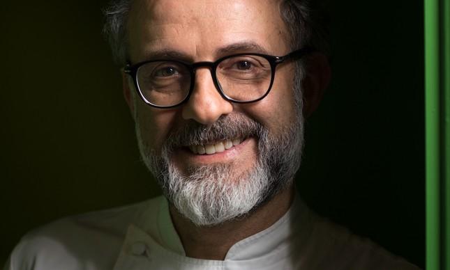 Chef Massimo Bottura possui 3 estrelas Michelin
