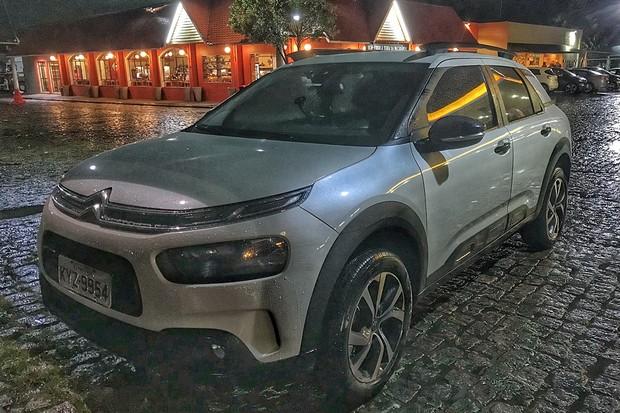 e70650ed67439 Flagra Citroën C4 Cactus Shine 1.6 THP (Foto  Diogo de Oliveira Autoesporte)