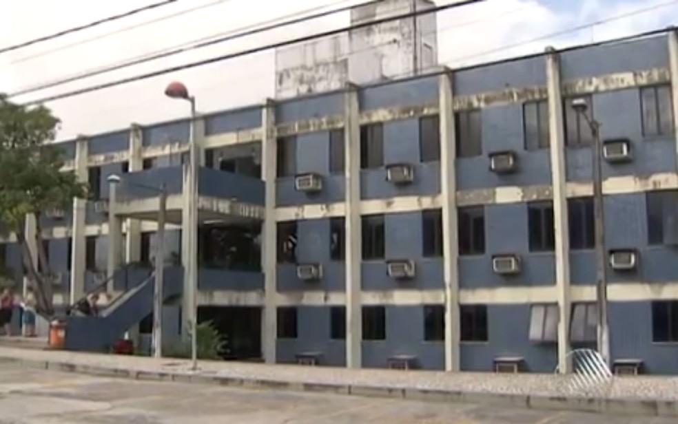 Audiência aconteceu no Fórum de Camaçari, na Bahia — Foto: Reprodução/TV Bahia