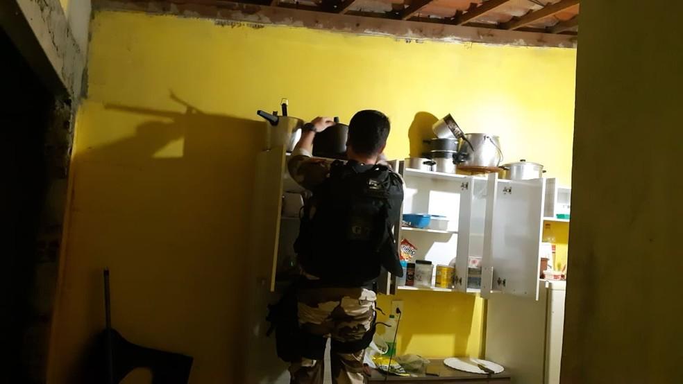 Mandados de busca e apreensão, prisão preventiva e prisão temporária, no Sertão e Cariri da Paraíba — Foto: Polícia Civil/Divulgação