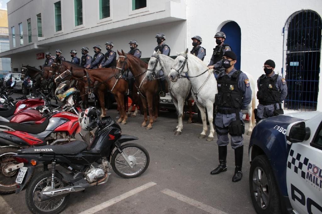 MT tem 1,7 mil policiais nas ruas durante operação de fim de ano para combater roubos e furtos