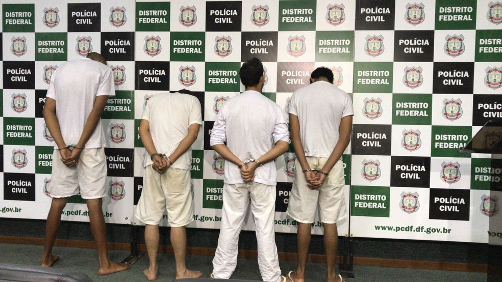 Irmãos ciganos acusados de crimes crueis no Distrito Federal e em Goiás (Foto: Ana Luiza de Carvalho/G1 )