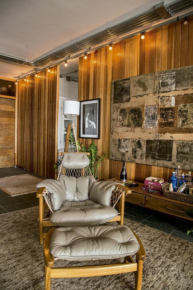 Lifestyle decor - A cadeira jangada, de Jean Gillon (Foto: Rogério Voltan)