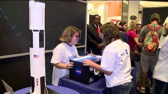 Evento da Nasa no Rio incentiva iniciação científica de jovens