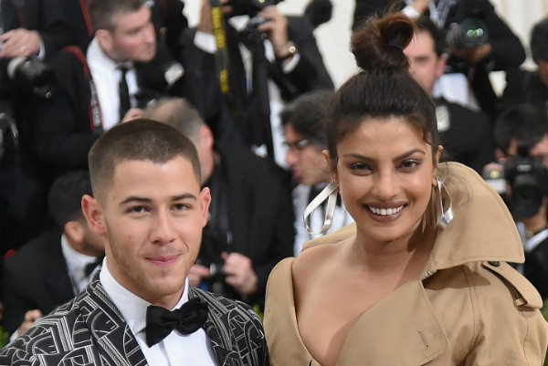 O cantor Nick Jonas e atriz Priyanka Chopra (Foto: Getty Images)