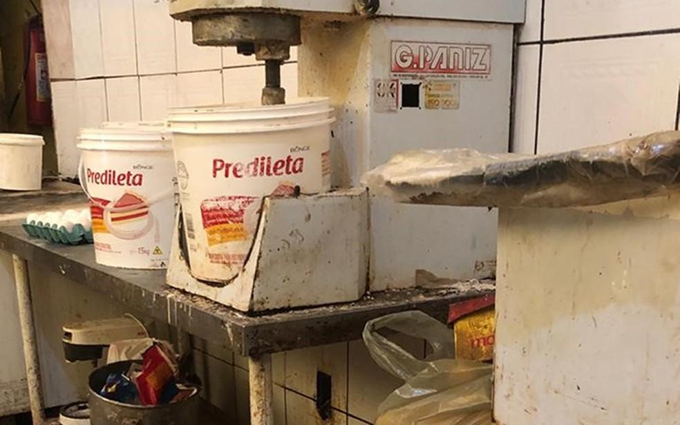 Local foi fiscalizado após denúncia anônima, segundo Vigilância Sanitária de Campos, no RJ — Foto: Divulgação/Prefeitura de Campos dos Goytacazes