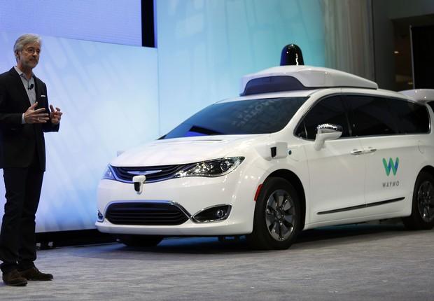 carro autônomo da Waymo (Foto: Getty Images)