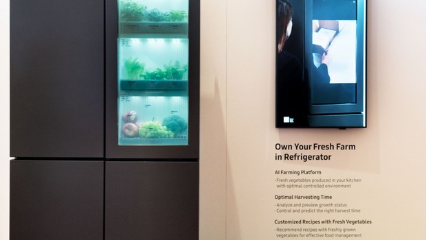 Plataforma de agricultura artificial lançada pela Samsung  (Foto: Divulgação)