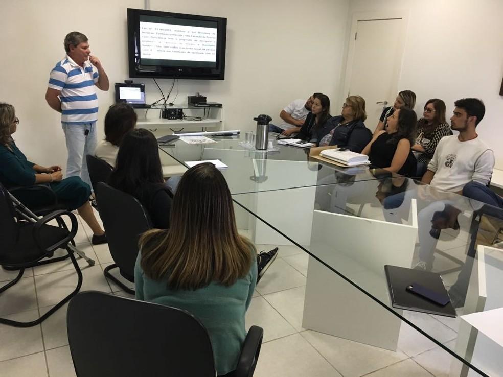 Seis representantes explicaram sobre suas lutas para a equipe da Inter TV  — Foto: Inter TV/ Divulgação