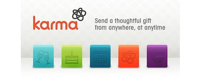 O app Karma foi comprado em 2012 e virou o Facebook Gifts (Foto: Reprodução/Phandroid)