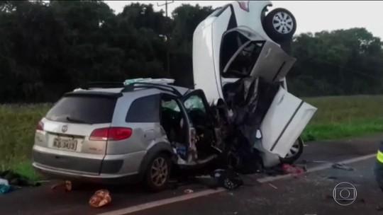 Número de mortes em acidentes nas estradas no Carnaval aumenta 30%
