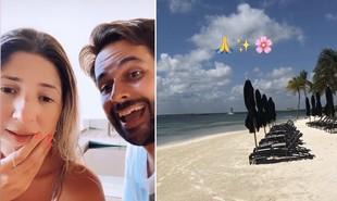 Após viagem a Punta Cana, Dani Calabresa curte Cancún com o namorado, Richard | Reprodução