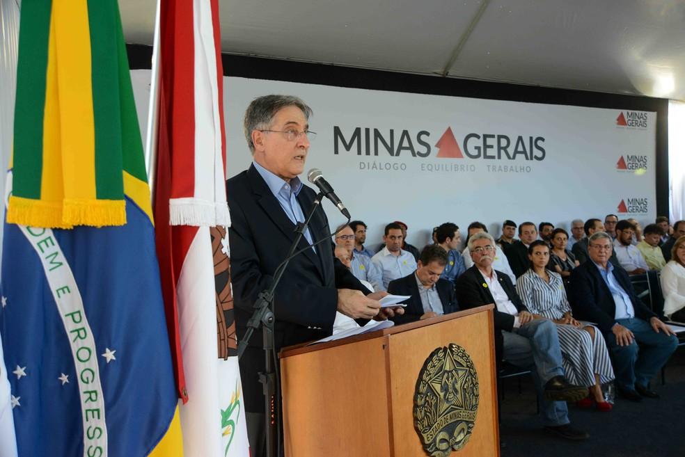 -  Governador Fernando Pimentel inaugurou a obra nesta segunda-feira  14   Foto: Gil Leonardi/Imprensa MG