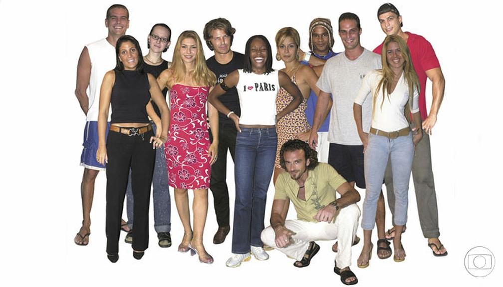 """""""Big Brother Brasil 1"""" — Foto: Divulgação/Memória Globo"""