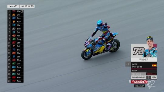 Alex Marquez vence a Moto2 da República Tcheca
