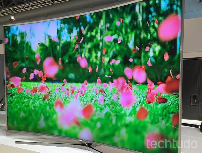 S UHDTV (Foto: Gabriela Fiszman/TechTudo)
