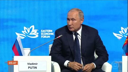 Fórum econômico na Rússia reúne participantes de vários países
