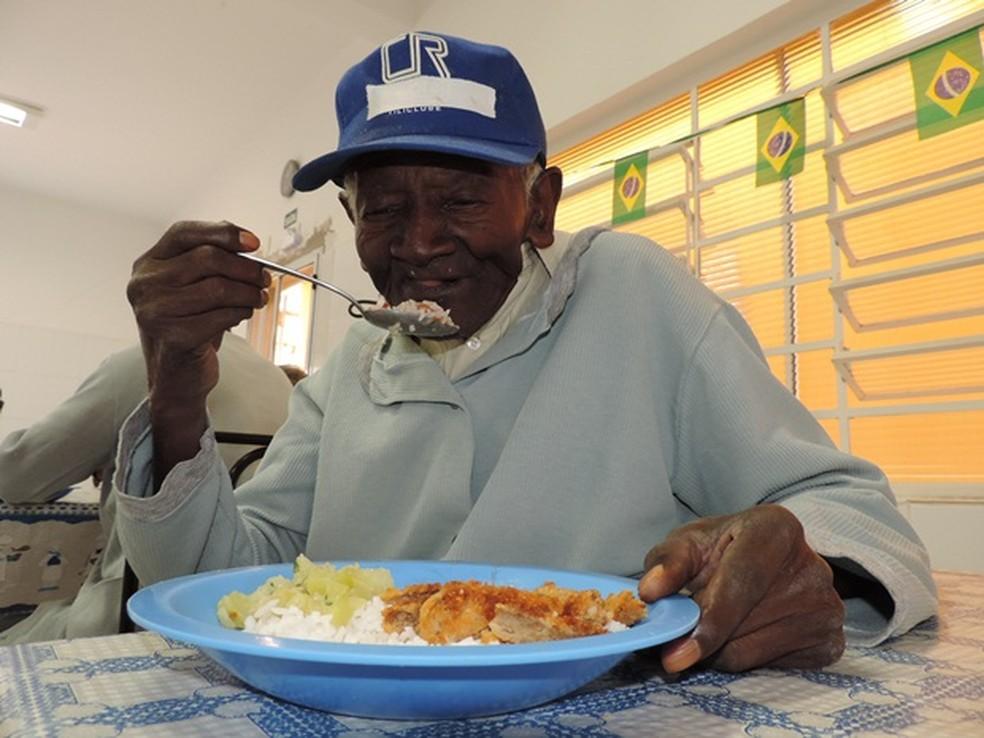 Idoso vivia no asilo em Bauru desde 1973  (Foto: Alan Schneider/G1/ Arquivo )
