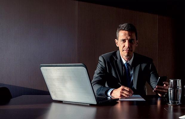 Empresa;Educação;Estácio;Rodrigo Galindo Sua habilidade como negociador será colocada à prova com os sócios da Estácio (Foto: Fabiano Accorsi)