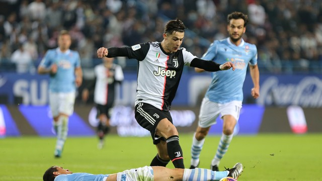 Cristiano Ronaldo - Lazio x Juventus